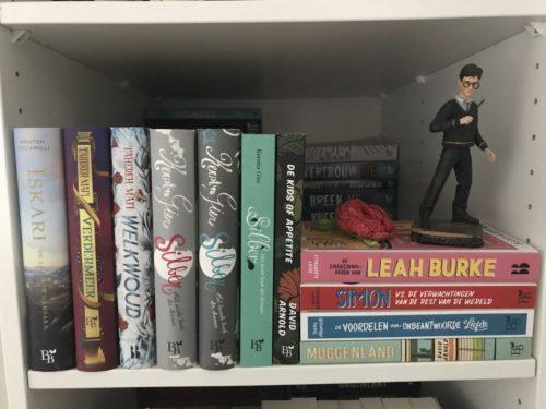 boeken in kast